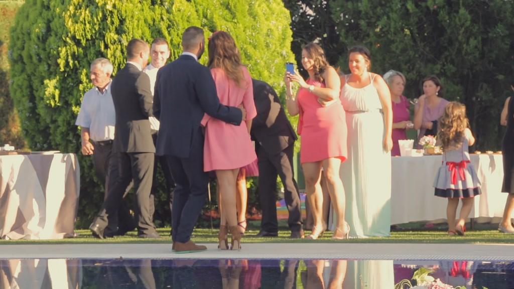 Amigos vídeo de boda de Rosa y José