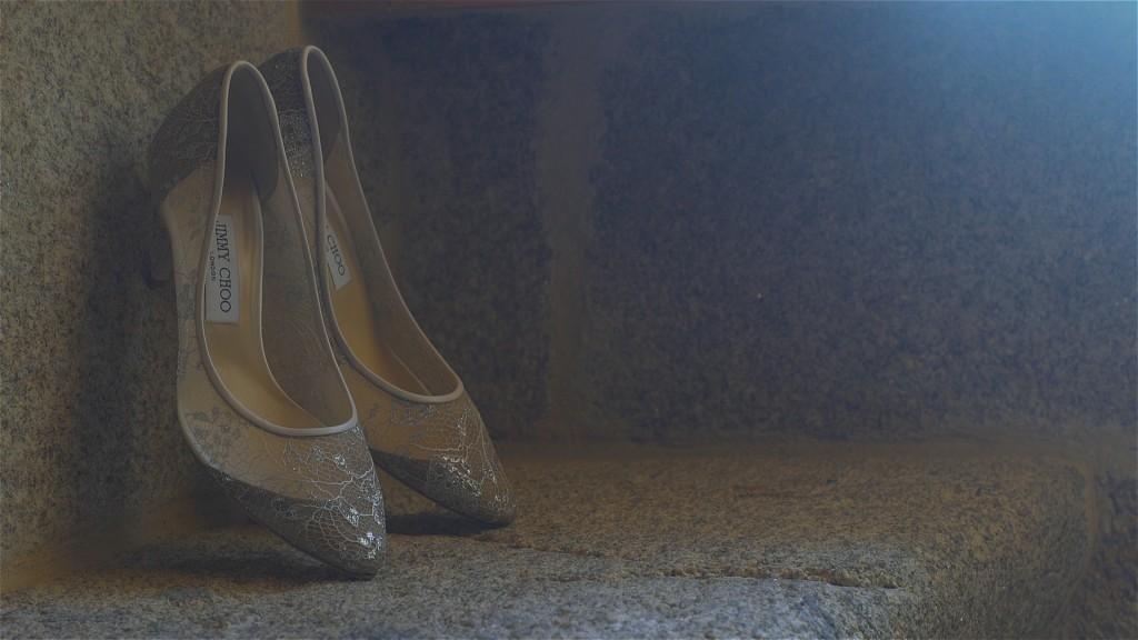 Consejos para elegir los zapatos de novia Nozay y Rubén