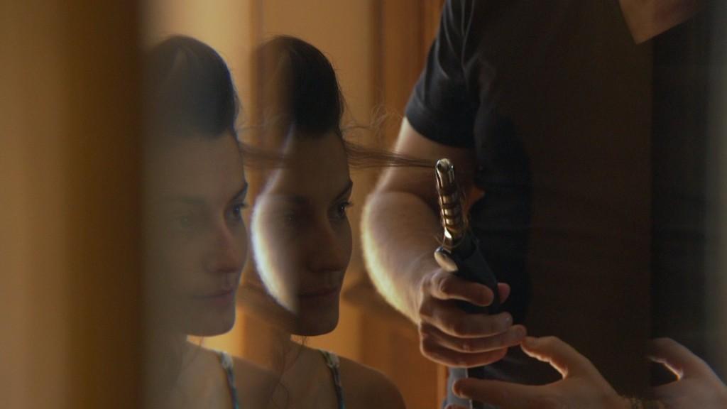 Peinado vídeo de boda de Emilie y Nelson