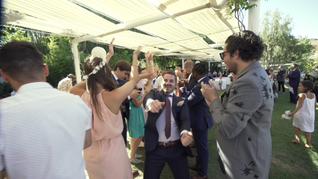 Flashmob 2 vídeo de boda de Emilie y Nelson