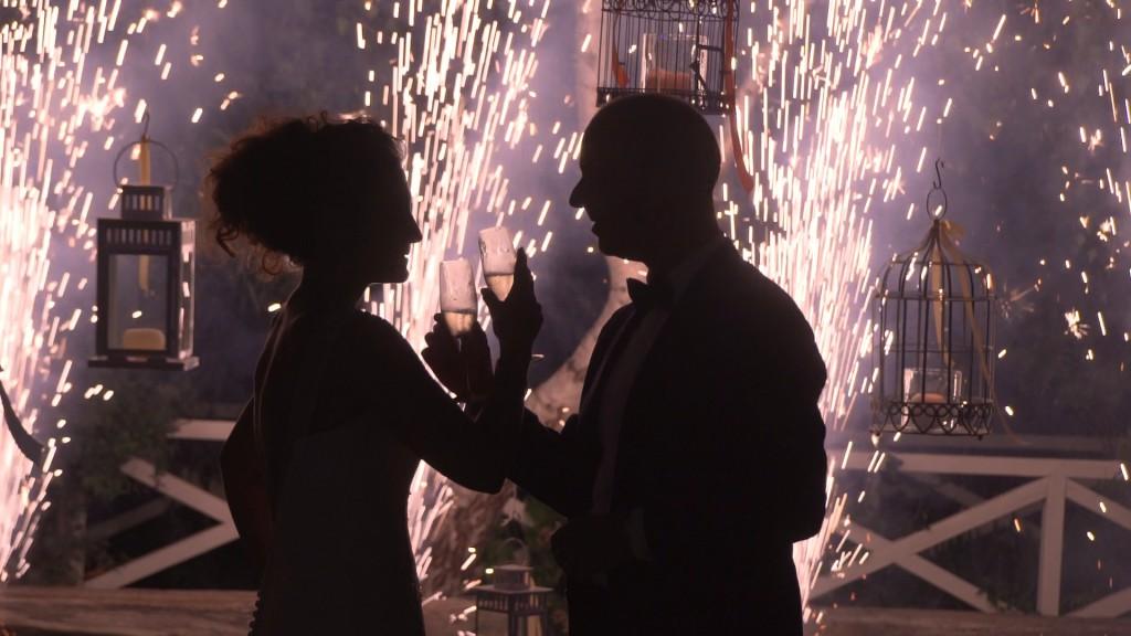 Brindis vídeo de boda de Emilie y Nelson