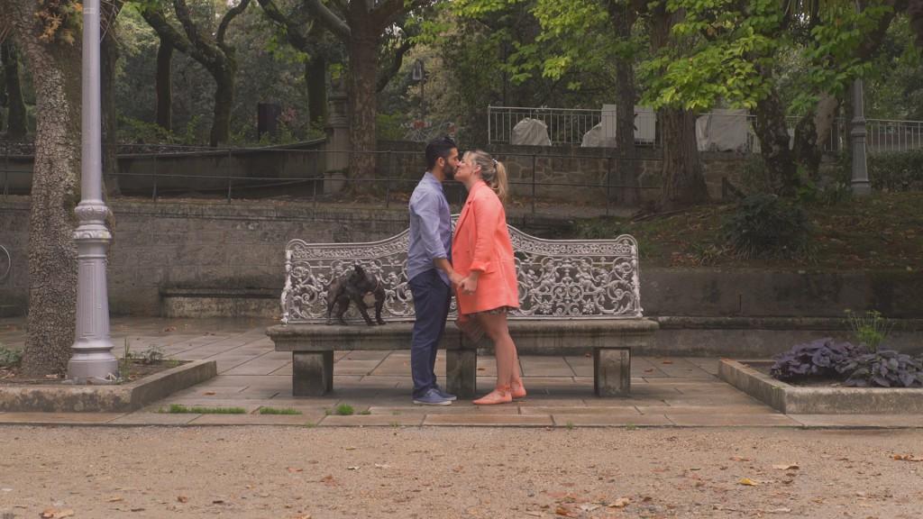 Banco vídeo de boda de Laura y Titti
