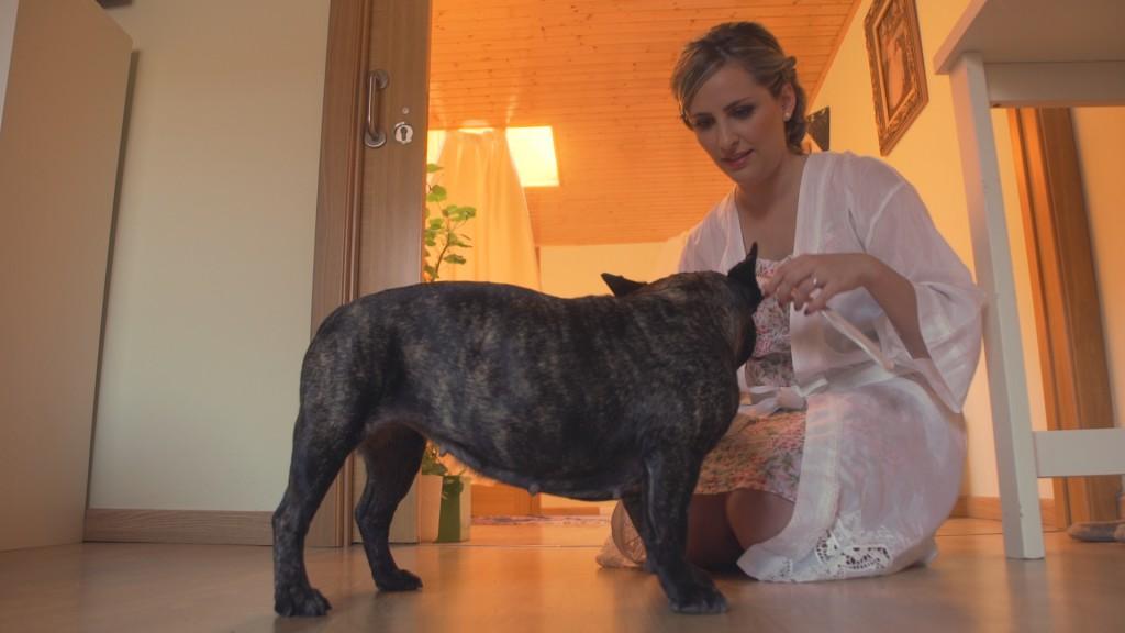 Collar en vídeo de boda de Laura y Titti