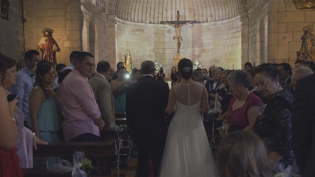 Iglesia vídeo de boda de Asun y Javi