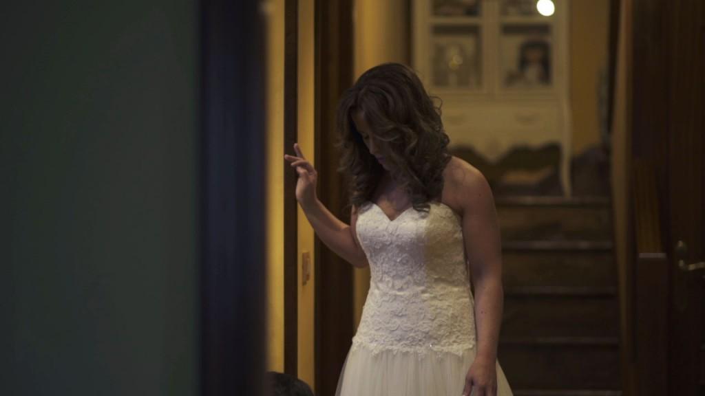 Vestido boda de Cris y Berto