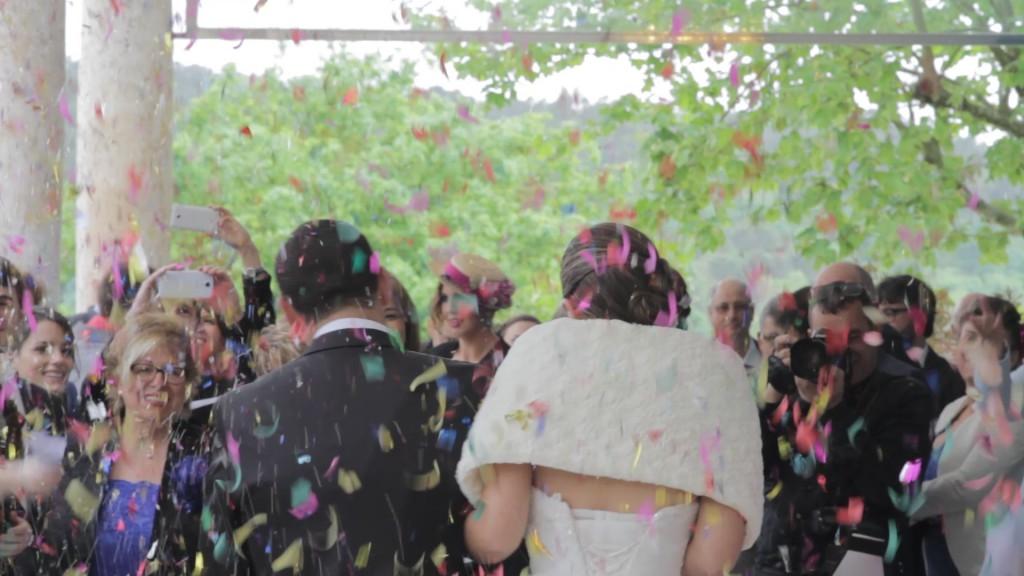 Salida ceremonia en vídeo de boda de Beatriz y Alejandro