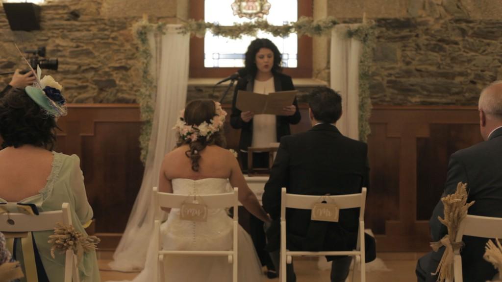 Ceremonia boda de Cris y Berto