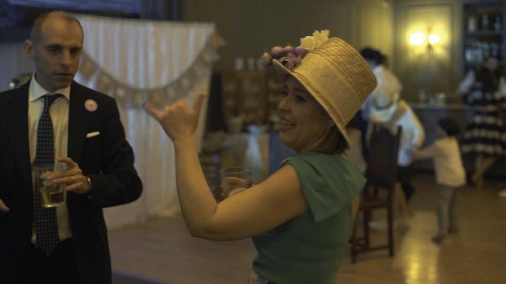 Fiesta en boda de Cris y Berto