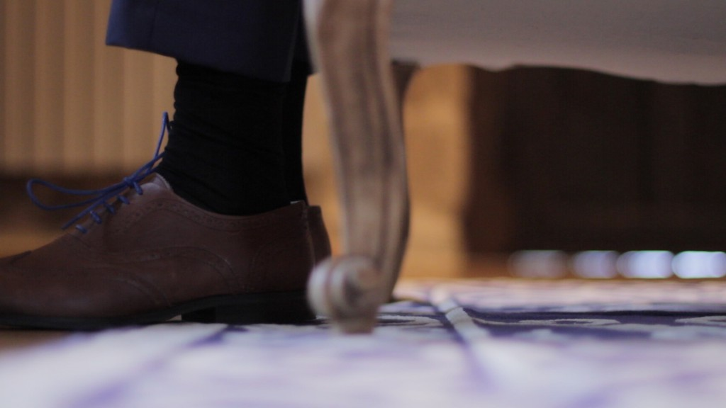 Zapatos vídeo de boda de Patricia y Diego