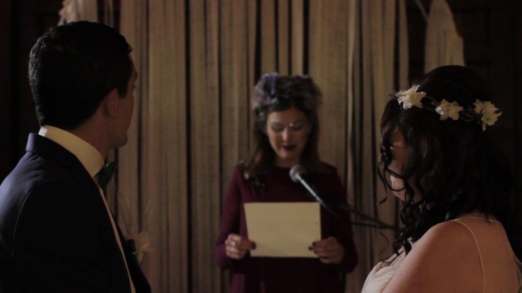 Lectura vídeo de boda de Patricia y Diego