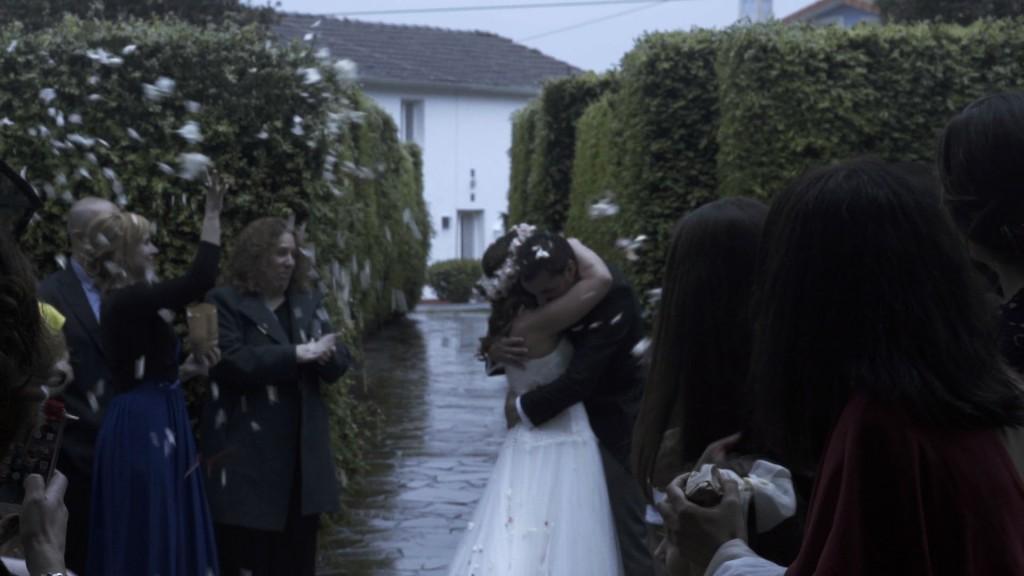 Salida boda de Cris y Berto
