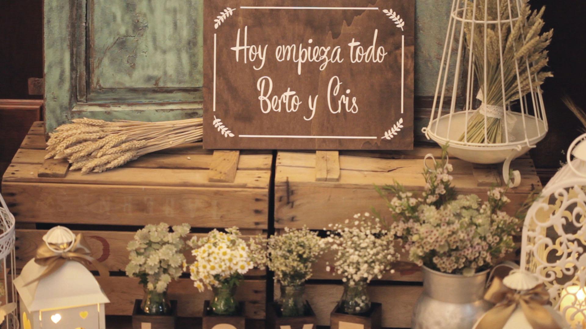 Vídeo de boda de Cris y Berto en Ferrol