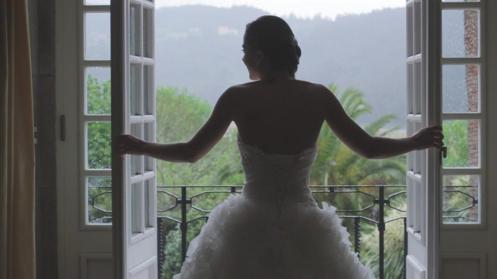 Balcón en vídeo de boda de Beatriz y Alejandro
