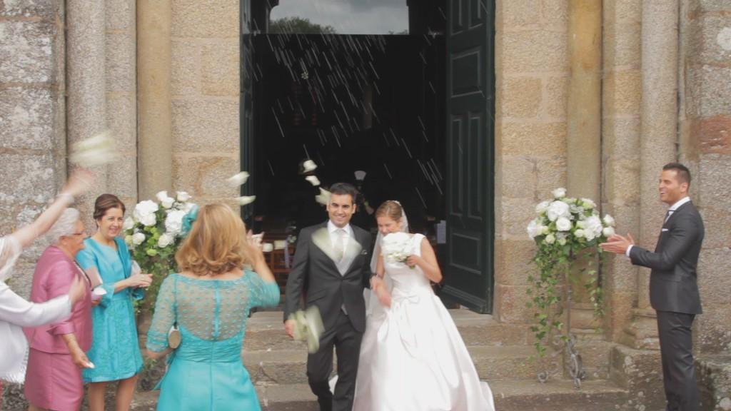 Salida vídeo de boda de Vanessa y Pablo