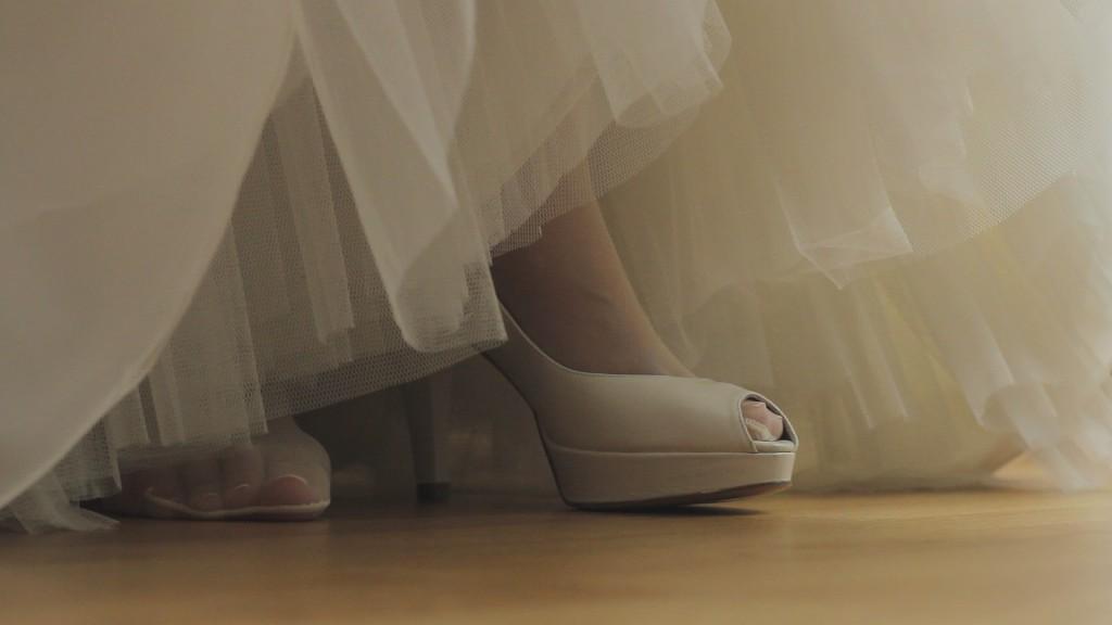 Zapatos vídeo de boda de Vanessa y Pablo
