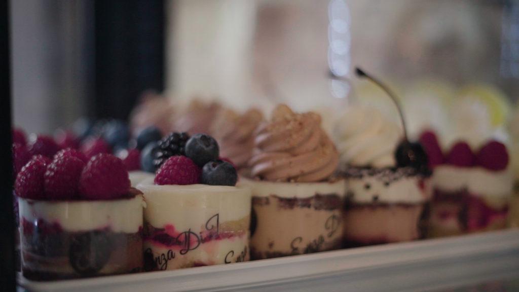 Diferentes tartas enza di piazza
